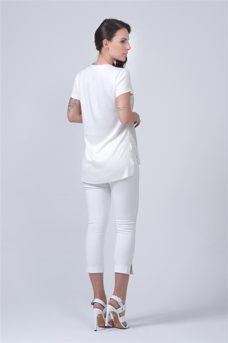 T-SHIRT LEATHER SKIN E INDRYA Costas