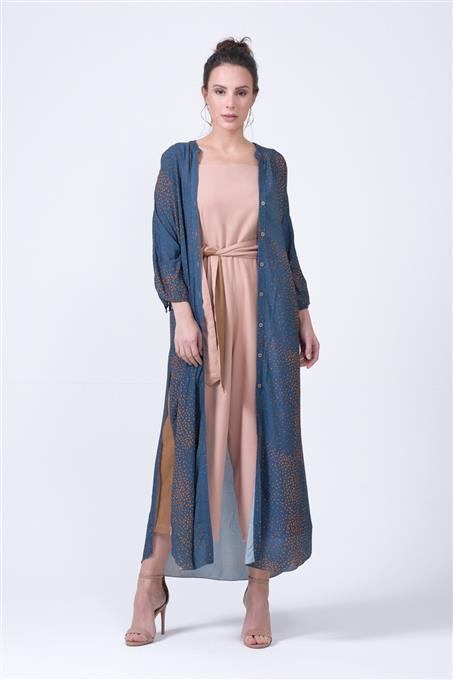 LONG SHIRT DRESS BOREAL Frente