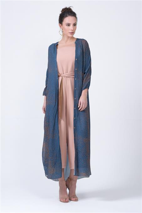 LONG SHIRT DRESS BOREAL