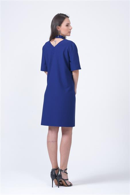 VESTIDO CAMISETA MANHATTAN costas
